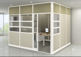 modular walls - open plan systems